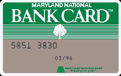 Maryland National Bank - Baltimore, MD