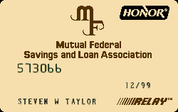 Mutual Federal Savings and Loan Association - Elkin, NC