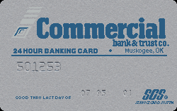 Commercial Bank and Trust Co. - Muskogee, OK